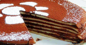 torta crepes e nutella