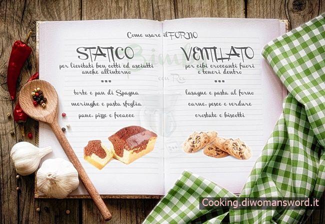 Guida sulla cottura nel Forno :Statica o Ventilata