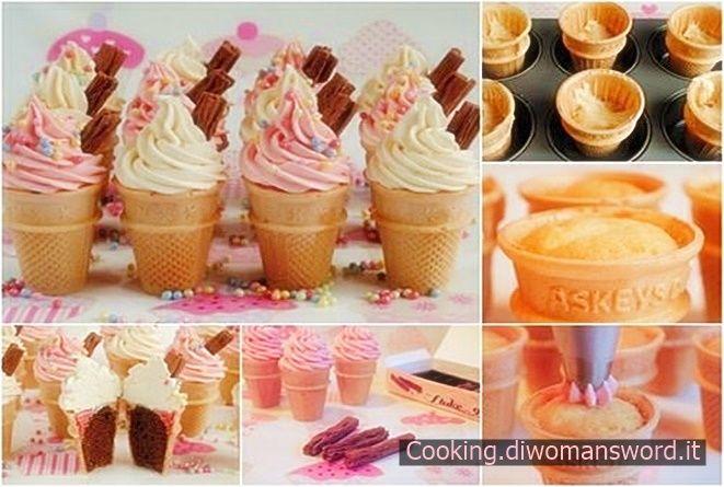 Come preparare i Cupcake nel Cono