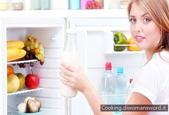 Come posizionare in modo corretto gli alimenti nel frigorifero
