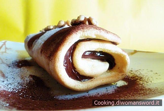 Biscotto alla Nutella Arrotolato