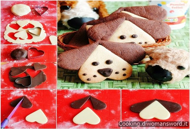 Biscotti a forma di Cagnolino