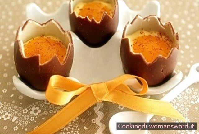 ovetti al cioccolato...effetto coque