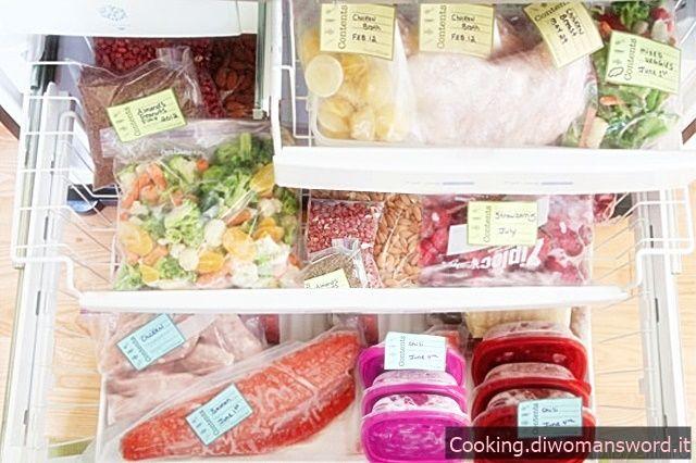 Guida su come Congelare gli Alimenti
