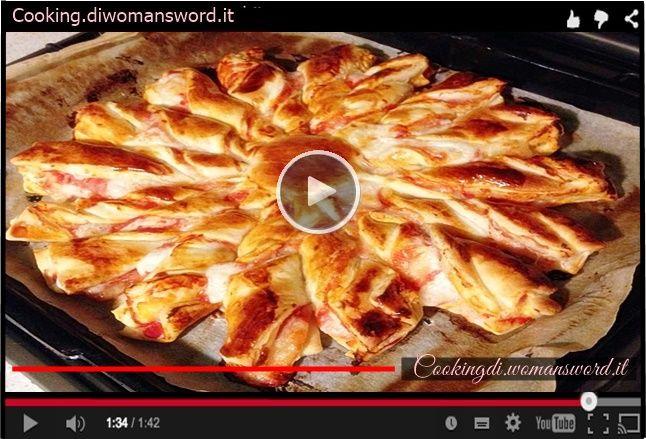 Pizza a base di pasta sfoglia pronta in 5 minuti