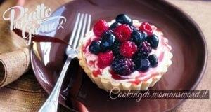 Favolosa Crostata con Crema al Mascarpone e Lamponi