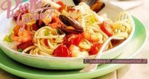 Pasta ai Frutti di Mare...ideale per chi adora il pesce