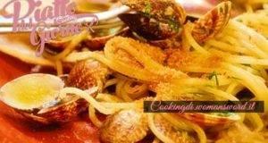 Per tentare anche i palati piu' esigenti....Spaghetti Vongole e Bottarga