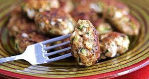 Polpette di Pollo con Zucchine e Provola